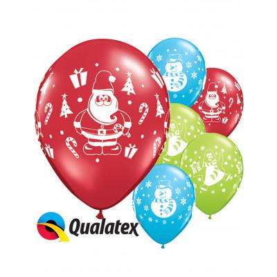 Latexove balony vianocne...
