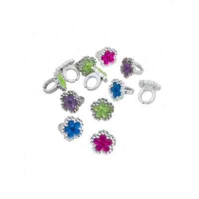 Prstene kvetinky 12ks