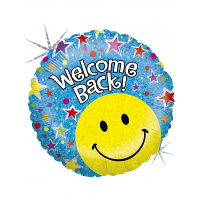 Balon WELCOME BACK 45CM