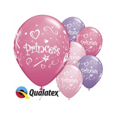 Latexove balony princezna...