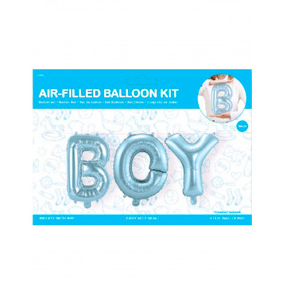 Balon napis BOY / chlapec