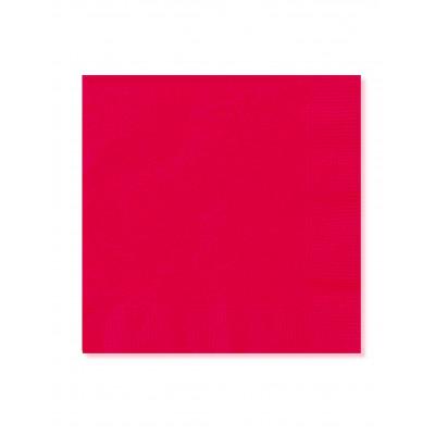Servitky cervene 20ks 33x33cm
