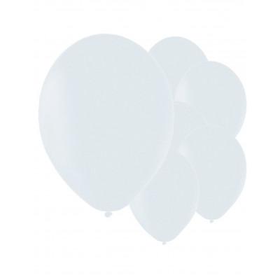 Latexove biele balony 50ks...