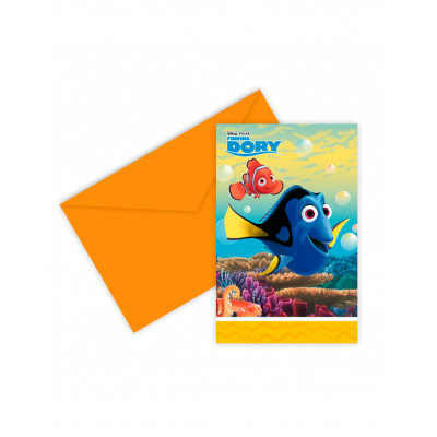 Pozvanky Hlada sa Nemo / Dory