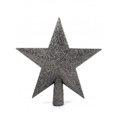 Hviezda na stromcek strieborna