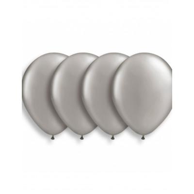Latexove strieborne balony...