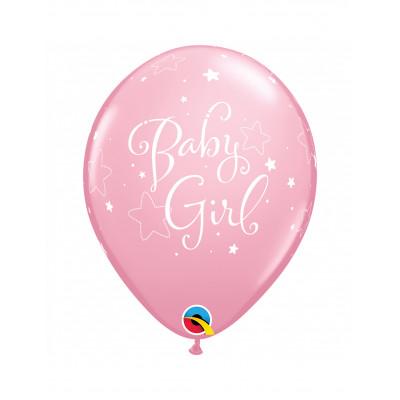 Latexove balony ruzove...
