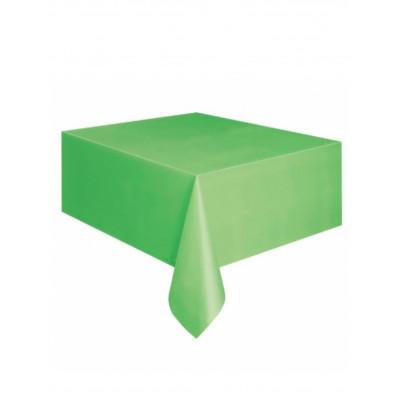 Obrus zeleny plastovy...