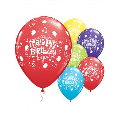 Latexove balony 6ks HAPPY...