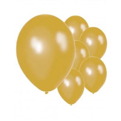 Latexove balony zlate 50ks...