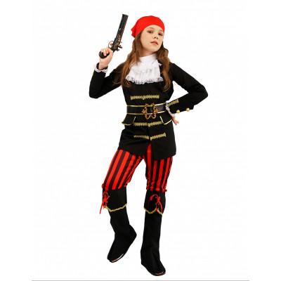 Kostym Piratka TEEN XS