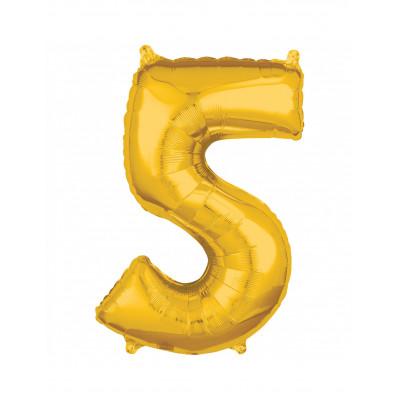 Balon zlaty c.5   88cm