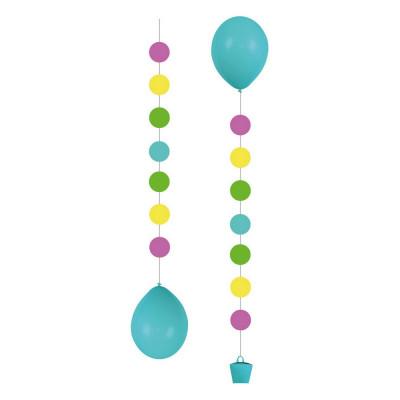 "AMSC 3 Balloon Tails ""Dots""..."