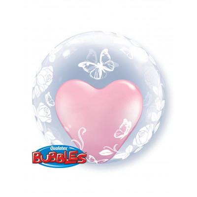 BUBBLESS balon motyl 60CM