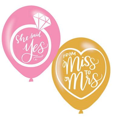 AMSC 6 Latex Balloons Mint...