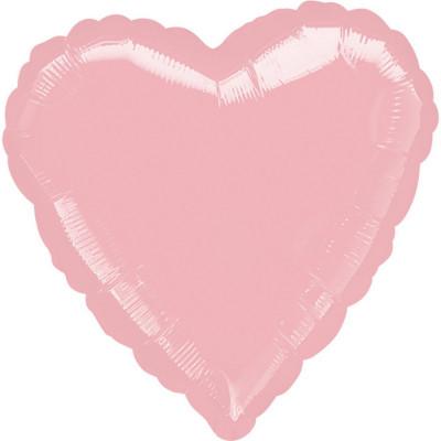 Balon srdce ruzove