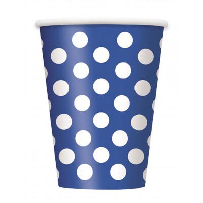 Pohare modre s bodkami 8ks