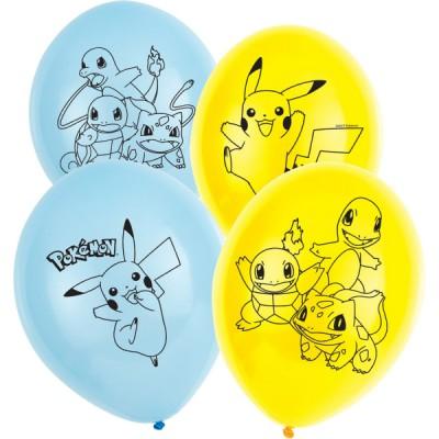 AMSC  latex balony pokemon