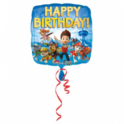 Balon Happy Birthday PAW...