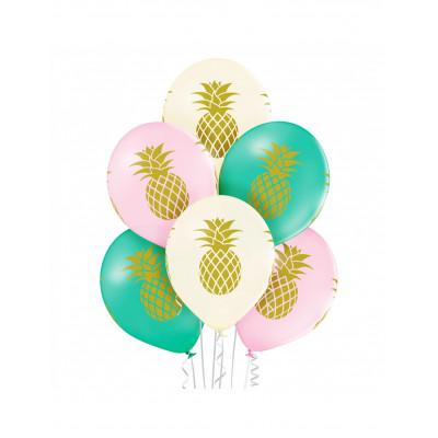 Latexove  balony ananas 6ks...