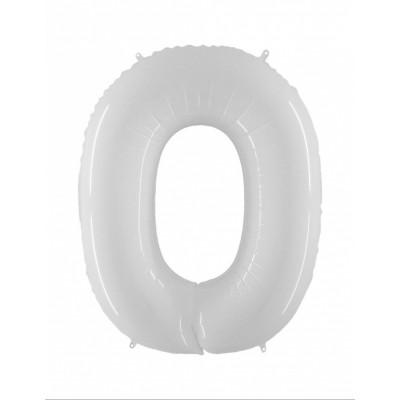 Balon biely c.0    101CM