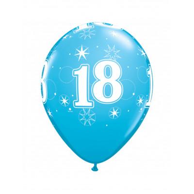 Latexove balony modre c.18...