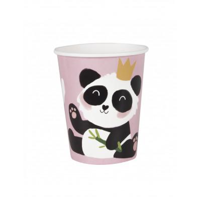 Pohare panda ruzove 8ks 266ML