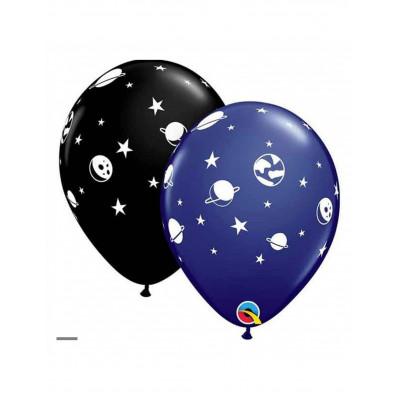 Latexove balony vesmir 6ks...