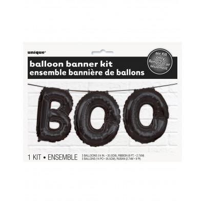 Balon napis BOO