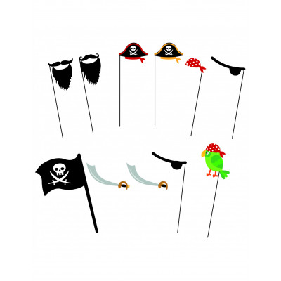 Foto rekvizity pirat