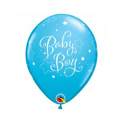 Latexove balony modre...