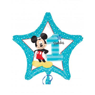 Balon 1 rok Mickey hviezda...
