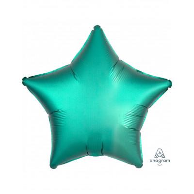 Balon hviezda zelena 45cm