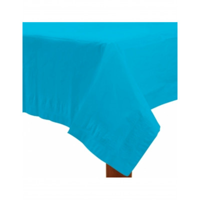 Obrus bledo modry papierovy...