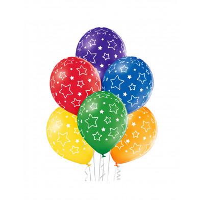 Latexove balony hviezdy 6ks...