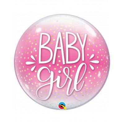 BUBBLES balon baby girl...