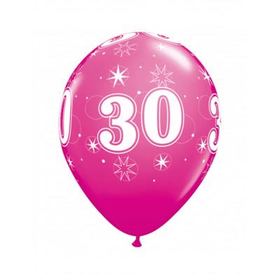 Latexove balony ruzove c.30...
