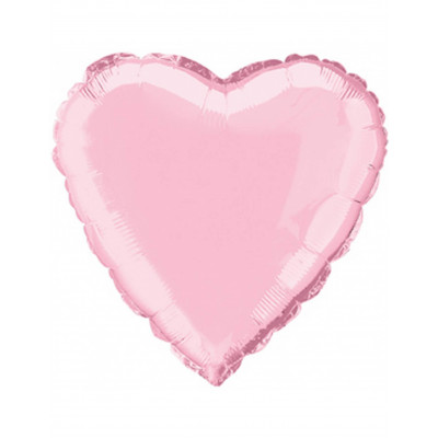 Balon ruzove srdce 45cm