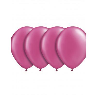 Latexove balony ruzove 50ks...