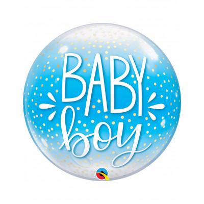BUBBLE Balon chlapec BABY...