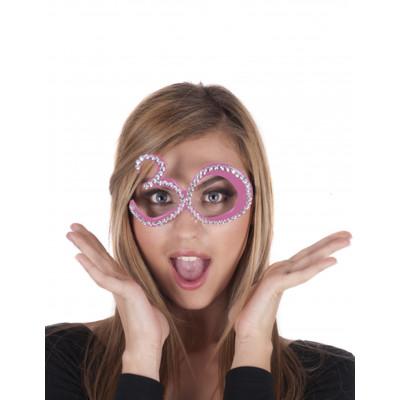 Okuliare c.30 ruzove
