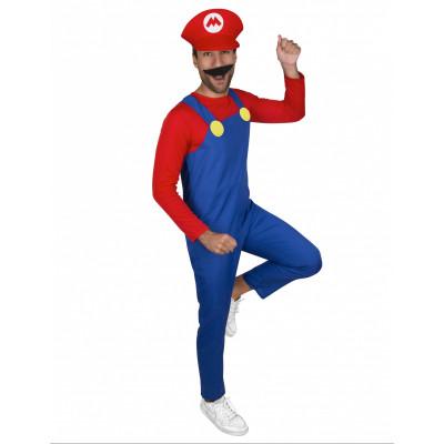 Kostym Super Mario TEEN XS