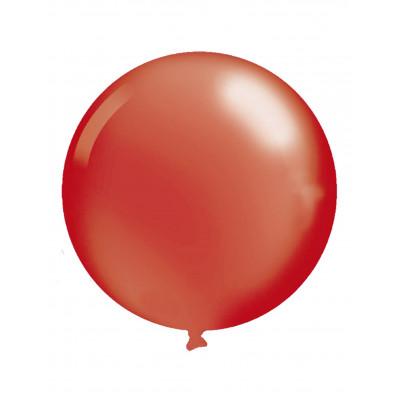 Latexovy balon cerveny 76CM