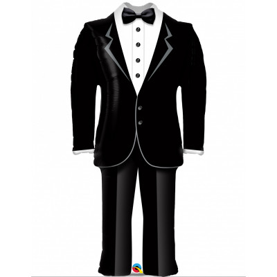 Balon svadobny smoking / oblek