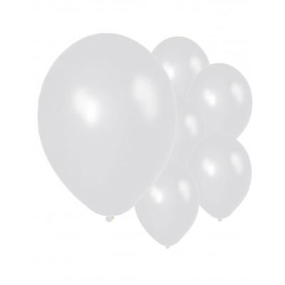 Latexove balony strieborne...