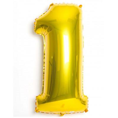 Balon zlaty c.1    88cm