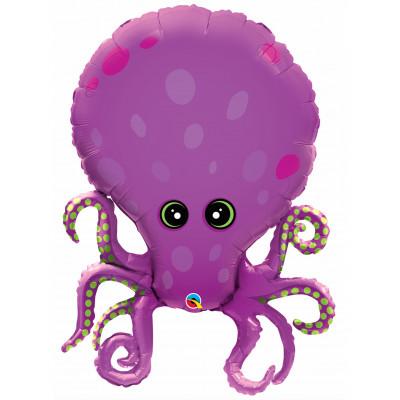 Balon chobotnica fialova