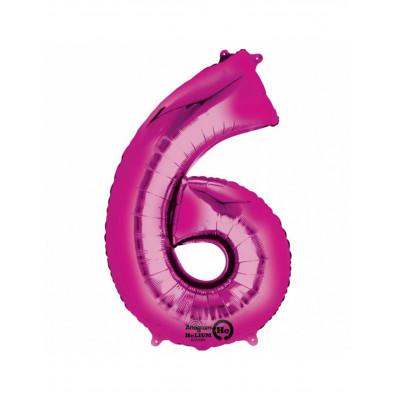 Balon ruzovy c.6   88cm