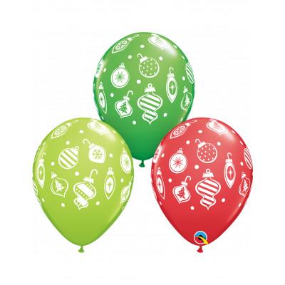 Latexove balony Vianoce
