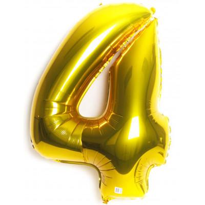 Balon zlaty c.4   88cm